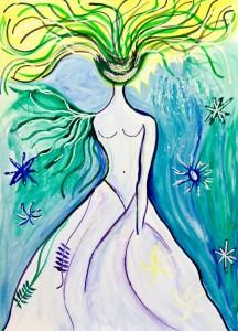 La diosa del mar